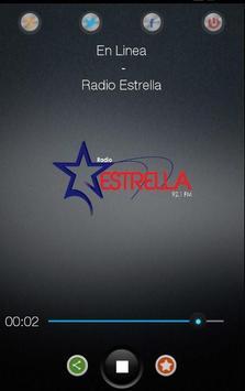 RADIO ESTRELLA 92.1 FM poster