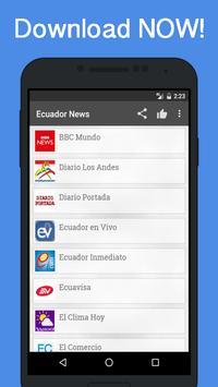News Ecuador poster