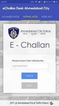 eChallan Ahemdabad City poster