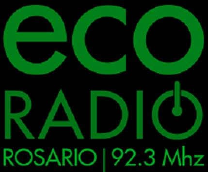 ECO RADIO ROSARIO FM 92.3 MHz poster