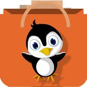 Shop Penguin icon