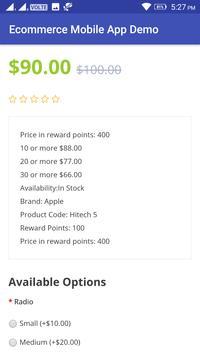 Ecommerce Mobile App Demo screenshot 8