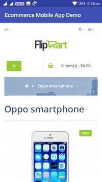 Ecommerce Mobile App Demo screenshot 11