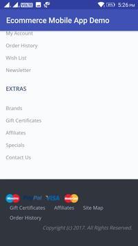 Ecommerce Mobile App Demo screenshot 14