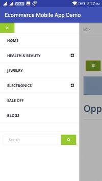 Ecommerce Mobile App Demo screenshot 2