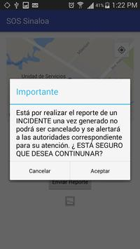SOS  Sinaloa screenshot 3