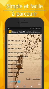 Ecoutez Black M: 2017 dernières chansons screenshot 6