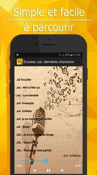 Ecoutez JuL: 2017 dernières chansons apk screenshot