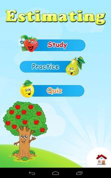 Grade 1 Math: Estimation poster