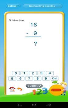 Grade 1 Math: Subtraction screenshot 3