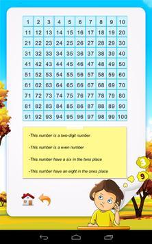 2nd Math: Guess the number screenshot 1