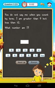 2nd Math: Guess the number screenshot 3