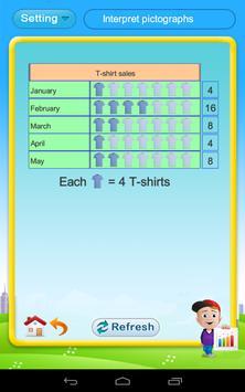 Grade 2 Math: Data & graphs apk screenshot