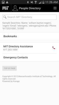 MIT Mobile screenshot 1