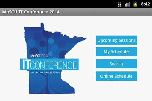 MnSCU IT Conference 2014 poster