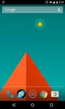 Flash Light Widget screenshot 1