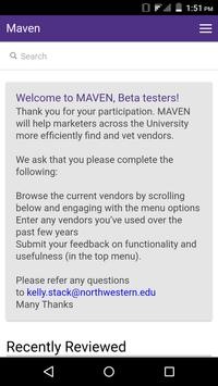 MAVEN screenshot 1