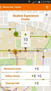 Beaver Bus Tracker screenshot 2