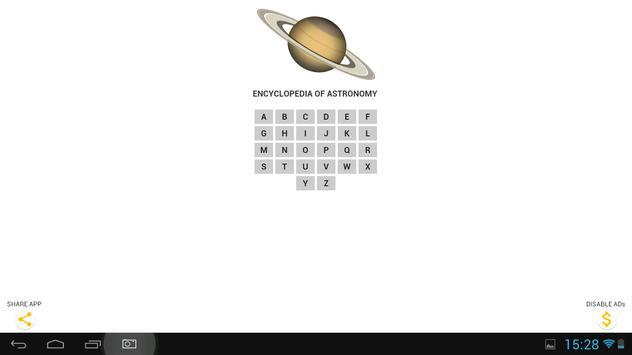 Encyclopedia of Astronomy apk screenshot