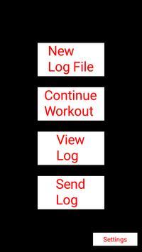 Basic Workout Logs poster