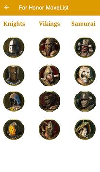 Moves For For Honor poster