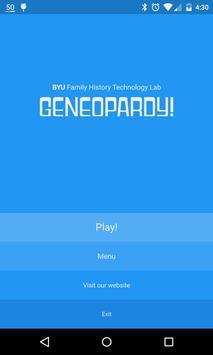 Geneopardy poster