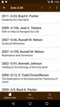 LDS Scripture Citation Index apk screenshot