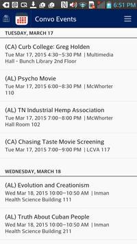 Belmont University screenshot 2