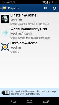 BOINC apk screenshot