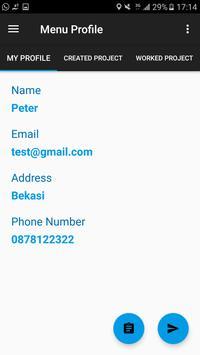 Cari Project apk screenshot