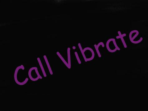 call vibrate Pro poster