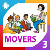 English Movers 3 - YLE Test icon