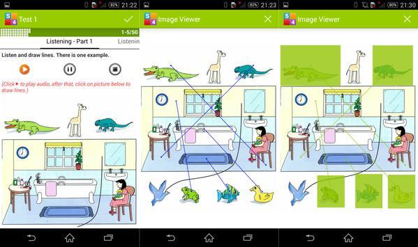 English Starters 4 - YLE Test apk screenshot