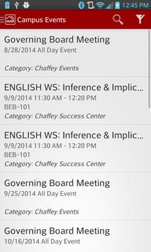 Chaffey College Mobile screenshot 3