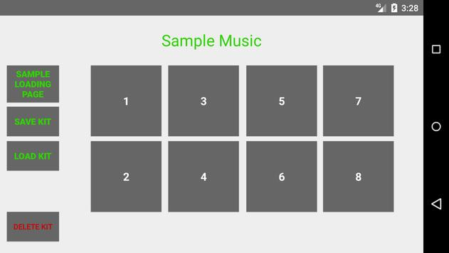 SampleMusic screenshot 1