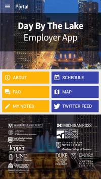 Day by the Lake Employer App poster