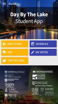 Day by the Lake Student App poster