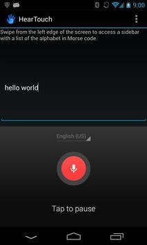 HearTouch screenshot 1