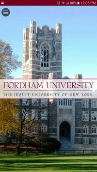 Fordham University Mobile Go poster