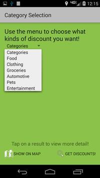 Student Discount Locator apk screenshot