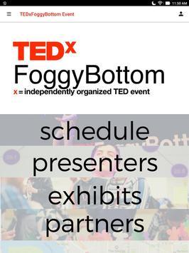 TEDxFoggyBottom screenshot 3