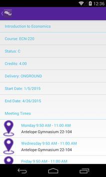 GCU Student apk screenshot