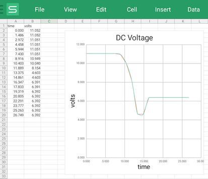 Mobile Science - DCVoltmeter screenshot 1
