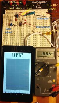 Mobile Science - DCVoltmeter screenshot 2