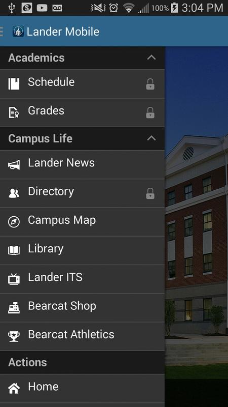 Lander Campus Map.Lander Mobile For Android Apk Download