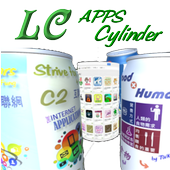 LCGSS AR 作品 - LC Apps Cylinder in AR icon