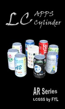 LCGSS AR 作品 - LC Apps Cylinder in AR poster