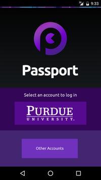 Open Passport poster