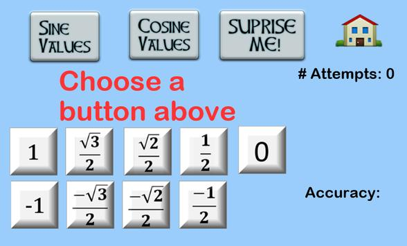 Values on the Unit Circle screenshot 1