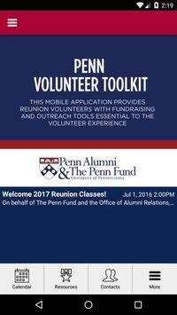 Penn Volunteer Toolkit poster